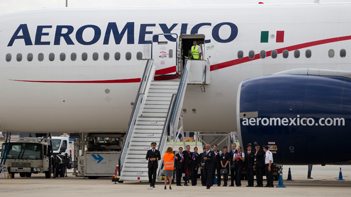 Paris-bound Aeromexico plane diverts to Ireland due to fire alert