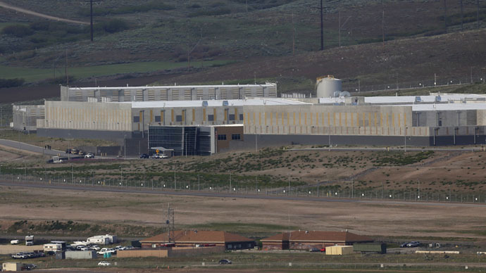 A National Security Agency (NSA) data gathering facility is seen in Bluffdale, about 25 miles (40 km) south of Salt Lake City (Reuters/Jim Urquhart)