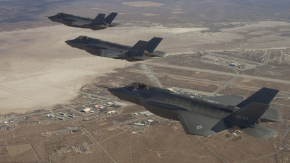 Pentagon's F-35 stealth jet can't win dogfight – report