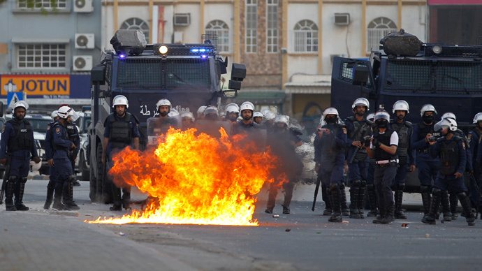 Bahrain to get more US arms as authorities keep cracking down on protestors
