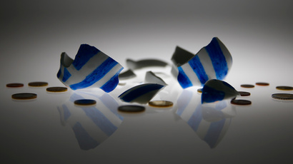 ​Greece becomes first developed nation to default on international obligations