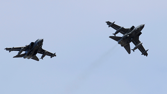 Royal Air Force Tornado jets (Reuters / Russell Cheyne)
