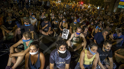 Thousands take to Spanish streets to protest anti-rally 'gag law'