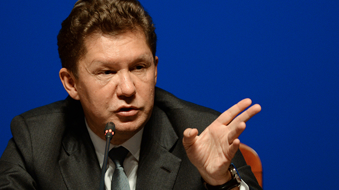 Alexey Miller, Chairman of the Gazprom Management Committee (Reuters /  Mikhail Voskresenskiy)