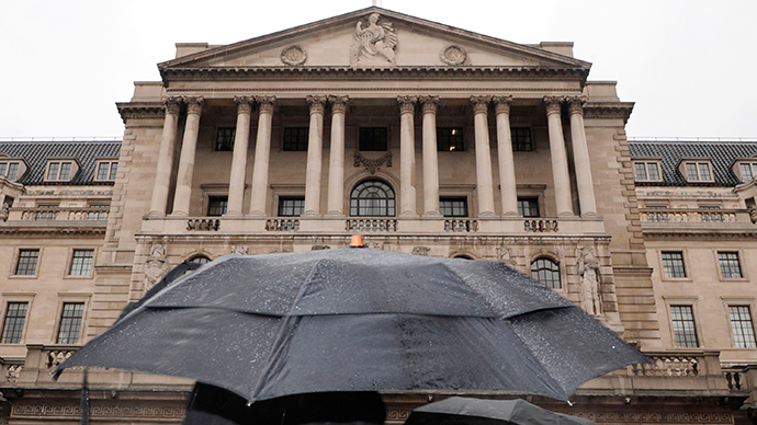The Bank of England building is seen in central London (Reuters / Toby Melville)