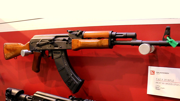 Buy American… Kalashnikovs: US-made Russian rifles now on sale