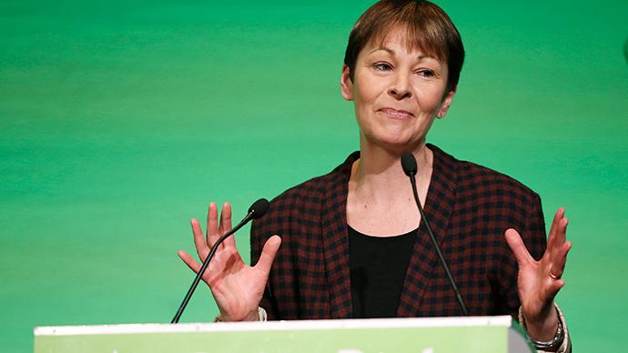 Britain's Green Party, MP Caroline Lucas. (Reuters / Phil Noble)