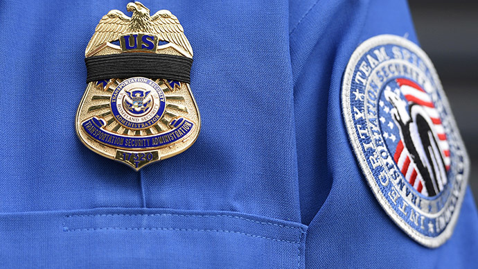 A Transportation Security Administration (TSA) agent. (Reuters / Kevork Djansezian)