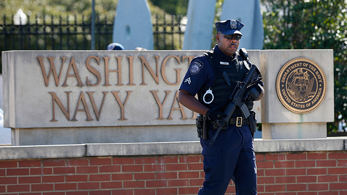 Washington Navy Yard gets 'all clear' after shooting false alarm