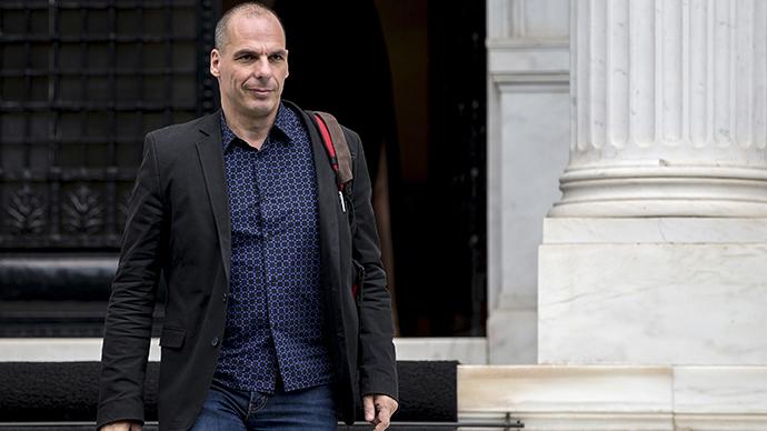 Greek Finance Minister Yanis Varoufakis (Reuters / Marko Djurica)