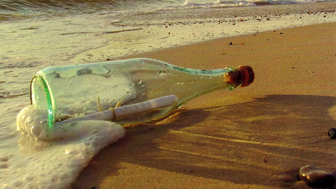 Message in a bottle: Mysterious encrypted letter discovered in Russian military city