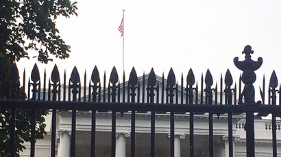 Keep out: White House fence gets extra spikes