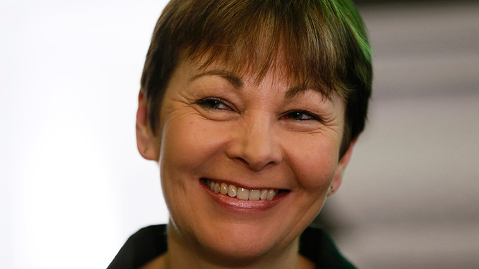 Britain's Green Party MP Caroline Lucas (Reuters / Stefan Wermuth)