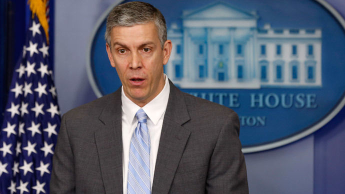 U.S. Secretary of Education Arne Duncan.(Reuters / Larry Downing )
