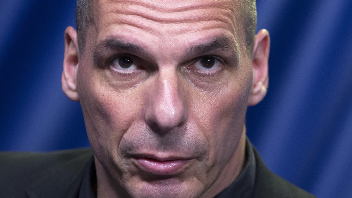 Greek Finance Minister Yanis Varoufakis.(Reuters / Yves Herman)