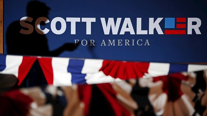 Wisconsin governor, Koch brothers' protégé becomes 15th GOP presidential candidate