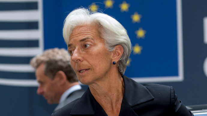 International Monetary Fund Managing Director Christine Lagarde (Reuters / Philippe Wojazer)