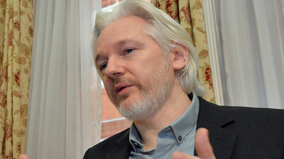 WikiLeaks founder Julian Assange (Reuters / John Stillwell / pool)