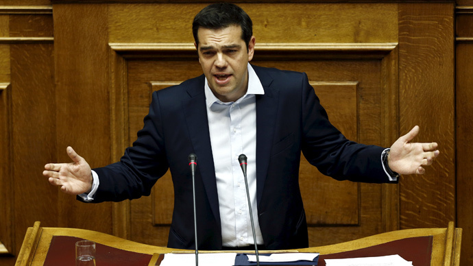 Tsipras asks for 30% debt haircut, 20yr grace period