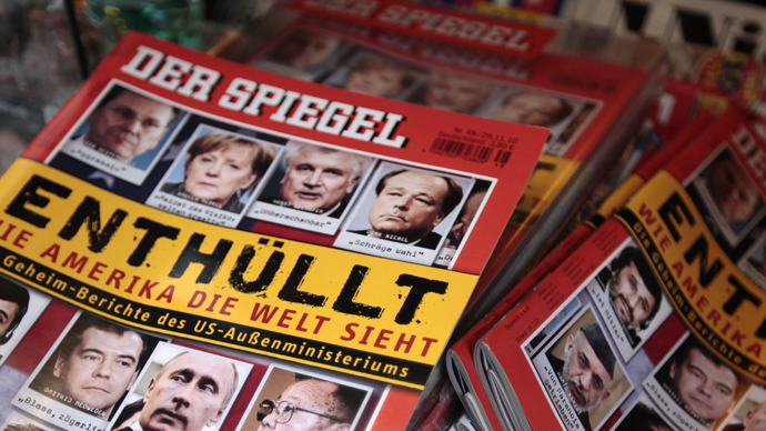 Der Spiegel: US ousted our source in German govt, chancellery hushed up the spying