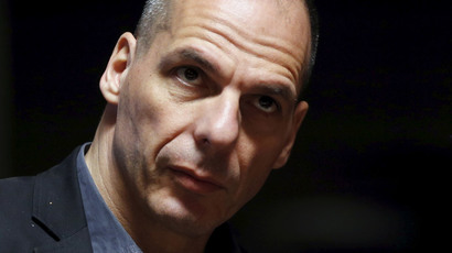 Greek Finance Minister Yanis Varoufakis (Reuters / Francois Lenoir)