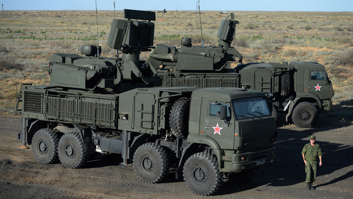 A Pantsir-S1 combined short to medium range surface-to-air missile weapon system (RIA Novosti / Mihail Mokrushin)