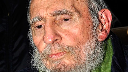 Former Cuban Leader Fidel Castro. (Reuters / Courtesy of Cubadebate / Revolution Studios / Handout)