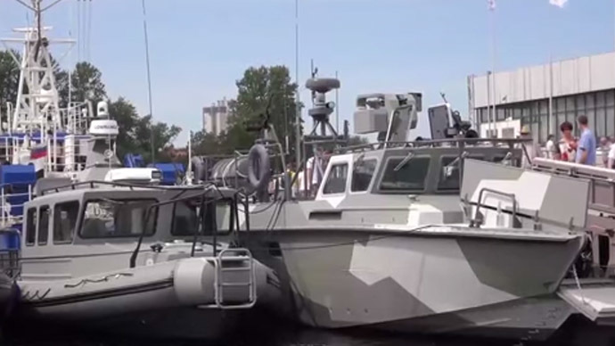 Kalashnikov presents: New assault boats showcased in St. Petersburg (VIDEO)