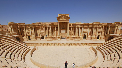 ISIS youth execute 25 Syrian soldiers at Palmyra amphitheater – report