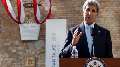 U.S. Secretary of State John Kerry.(Reuters / Leonhard Foeger)