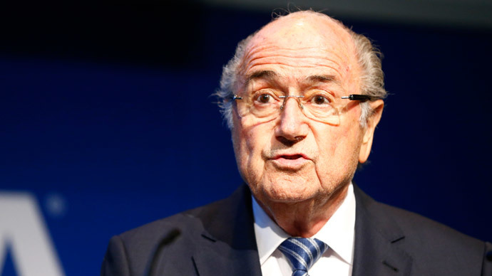 FIFA's Blatter accuses French, German ex-presidents of meddling with World Cup vote