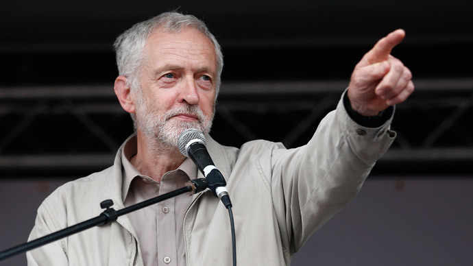 ​'Vote Corbyn': Britain's biggest union Unite backs socialist for Labour leadership