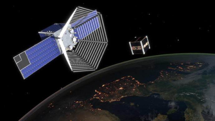 Switzerland to send 'Pac-Man' into orbit to clear space junk