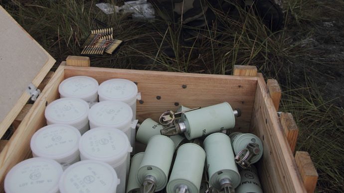 Explosives stolen from French army base - terrorism not ruled out