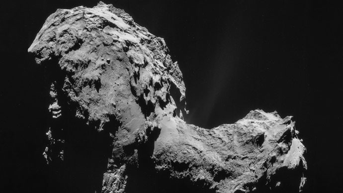 Comet Churyumov–Gerasimenko as seen by Rosetta (ESA/Rosetta/NAVCAM)
