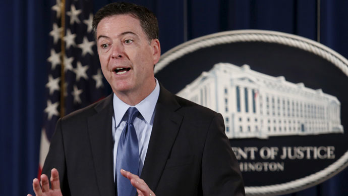 FBI Director James Comey (Reuters/Yuri Gripas)