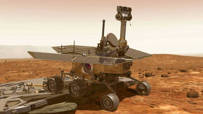 ​NASA time-lapse shows Opportunity rover's 11yr Mars journey in 8 minutes (VIDEO)