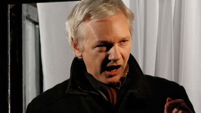 WikiLeaks founder Julian Assange (Reuters / Luke MacGregor)