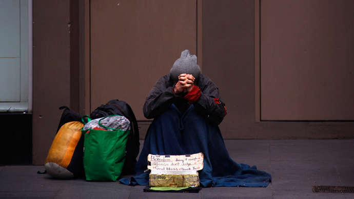 Australia police minister slams charities for not housing homeless