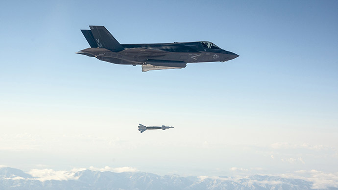 US Air Force drops (expensive) mock nuclear bomb in Nevada