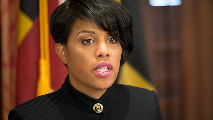 Baltimore Mayor Stephanie Rawlings-Blake. (Reuters / Bryan Woolston)