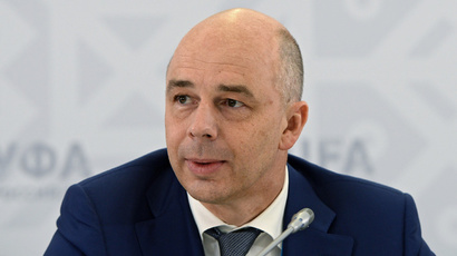 Minister of Finance of the Russian Federation Anton Siluanov (RIA Novosti / Maksim Blinov)
