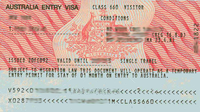 Australian Government Travel Visa