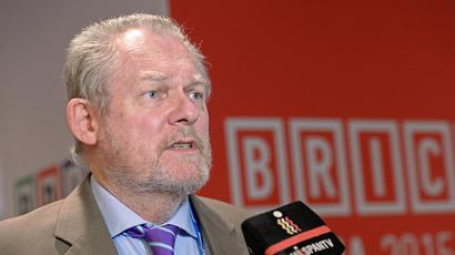 Minister of Trade and Industry of the Republic of South Africa Rob Davies (RIA Novosti/Sergey Pyatakov)