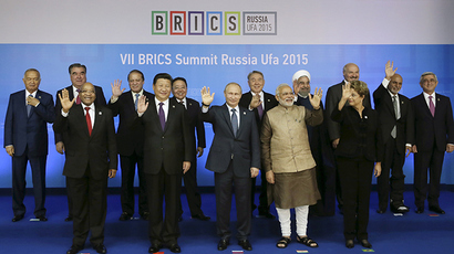 The BRICS Summit in Ufa, Russia, July 9, 2015 (Reuters / SCO Photohost / RIA Novosti)