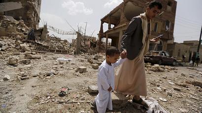 Saudi airstrikes violate 'unconditional humanitarian pause' in Yemen