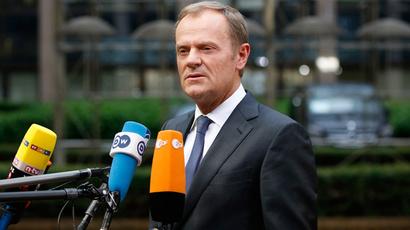 European Council President Donald Tusk (Reuters / Charles Platiau)