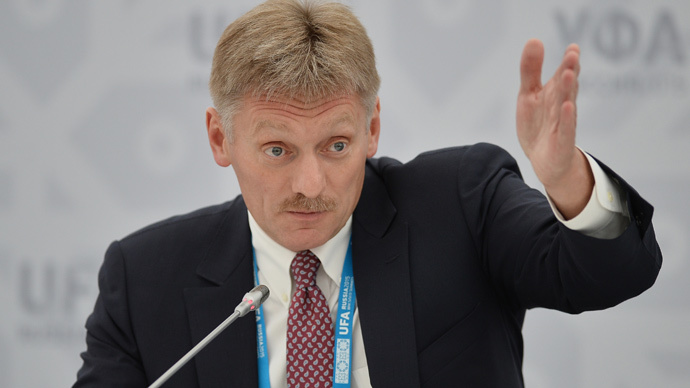 Russian Presidential Press Secretary Dmitry Peskov (RIA Novosti / Vladimir Astapkovich)