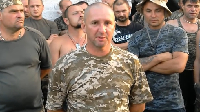 Ukrainian tank battalion goes AWOL, demands Poroshenko to stop 'mayhem in the army'