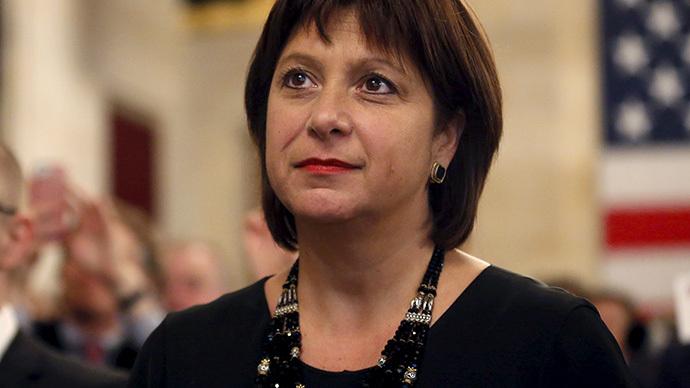 Ukrainian Finance Minister Natalia Yaresko. (Reuters / Yuri Gripas)